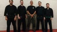 Medlemmar från Kaigozan dojo besöker Bujinkan Bushin Dojo för att delta i seminarium med Shawn Gray. Tema är Kukan: Nai Ga Aru Read about it here.